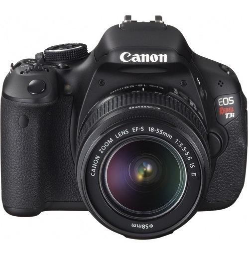 Câmera Canon T3i + Acessórios - Usada