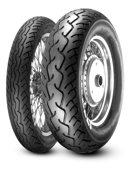 Par Pneu Pirelli Mt 66 Route 100/90-19 + 170/80-15 Shadow600