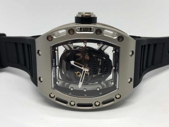 Richard Mille Rm52 Skull Silver