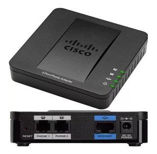 Voipeador Cisco Spa112 Nuevo Y Libre Para Voip Llamadas