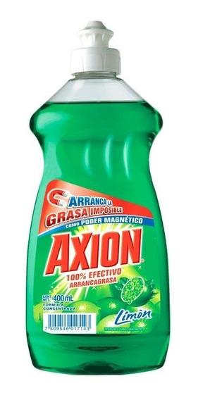 Lavatrastes Axion Limón Líquido 400 Ml