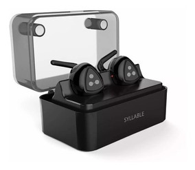 Fone Bluetooth Duplo Earphone Syllable D900 Icon-x iPhone