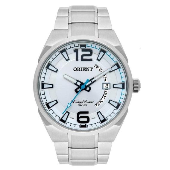 Relógio Orient Masculino Mbss1336 S2sx Aço Prata Analogico