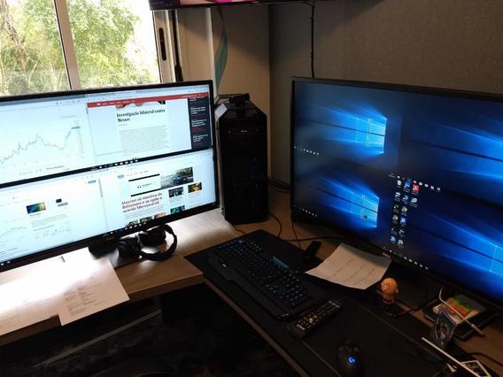 Computador Pc Intel I9 Asus + 2 Monitores Dell 43