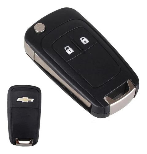 Carcasa Llave Plegable Para Chevrolet 2 Botones