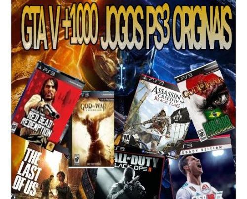 Imagem 1 de 1 de Combo 4000 Jogos Para Ps3  Midia Digital-leia A Descrição!