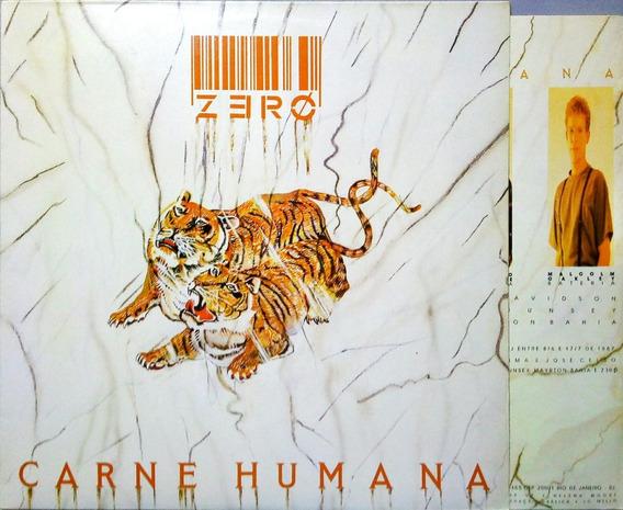 Zero Lp 1987 Carne Humana Com Encarte Lp 10375