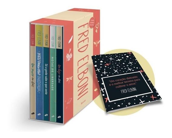 Box Fred Elboni + Caderneta Exclusiva
