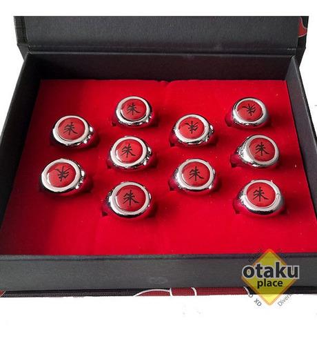 Imagen 1 de 3 de Anillo Itachi Akatsuki