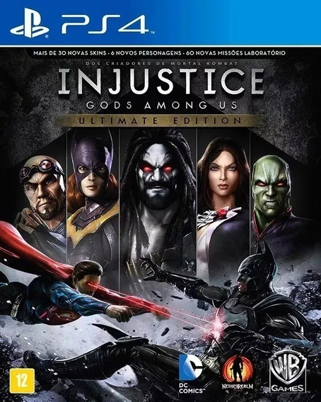 Injustice Gods Among Us Ultimate Edition - Pt Br Lacrado!!!