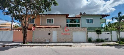 Casa Com 3 Dormitórios À Venda, 114 M² Por R$ 650.000,00 - Recreio - Rio Das Ostras/rj - Ca2337