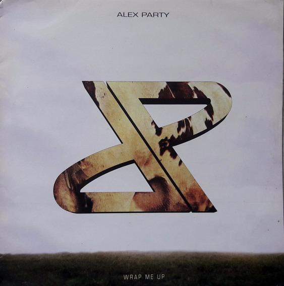 Lp Single Importado Alex Party/wrap Me Up/1995/made In Italy