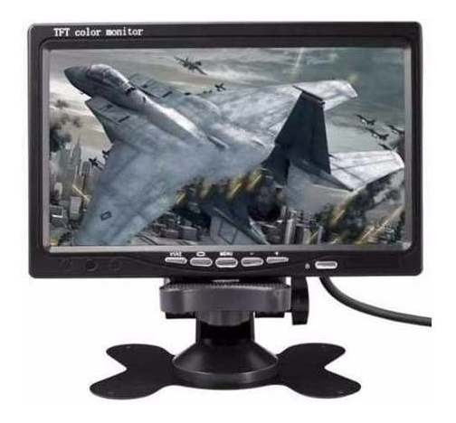 Tela Monitor Lcd 7 Dvd Veiculaar Colorida Com Controle
