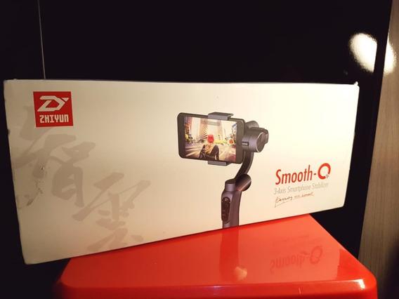 Gimbal Zhiyun Smooth Q 3 Eixos P/ Celular E Cameras De Ação
