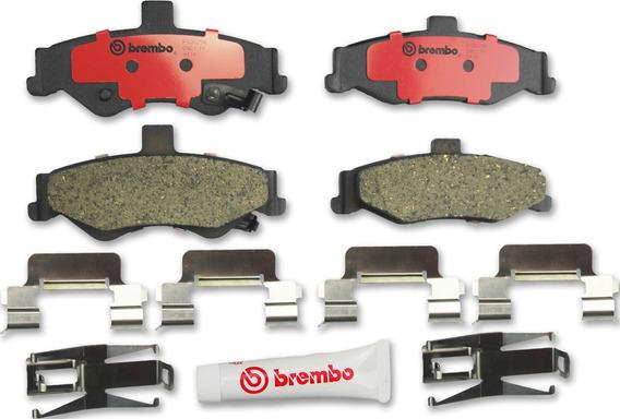 Juego Balatas Ceramicas (t) Brembo Camaro Z-28 98-02