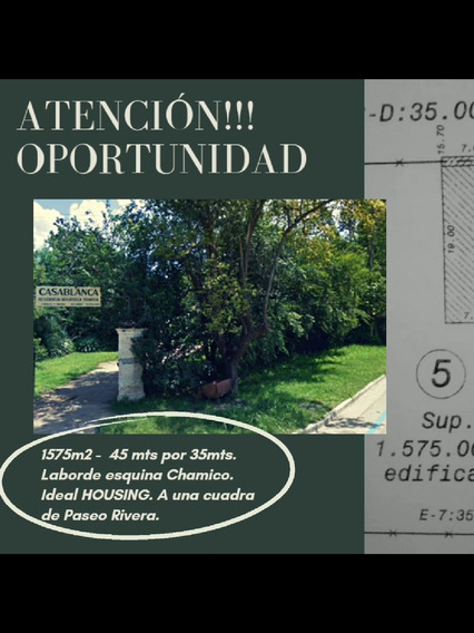 Urgente Vendo Lote Ideal Housing Zona Paseo Rivera.