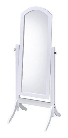 AtHomeMart Oak Cheval Mirror