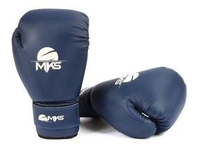 Luva Muay Thai Kickboxing Prospect Mks Combat Azul