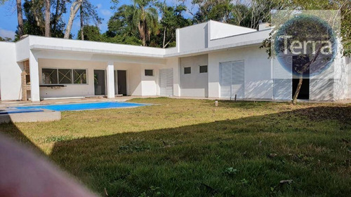 Casa Com 3 Dormitórios À Venda, 280 M² Por R$ 1.300.000 - Granja Viana Ii - Granja Viana. - Ca1747
