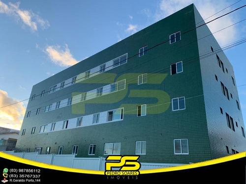 Últimos Apartamentos, 02 Quartos, Piscina, Área Gourmet, 52,00m² Por Apenas R$ 106.000,00 E Ótima Localização Em Parque Do Sol - Gramame, João Pessoa - Ap2725