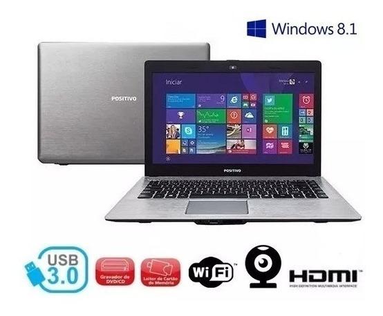 Promoção Notebook Positivo N30i N2807 2gb 500 Hdmi Usb 3.0