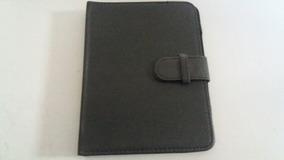 Capa Case Couro Preto Tablet 21 X 16