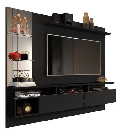 Home Painel Rack Suspenso P/ Tv 55 Intense 4 Opções De Cor
