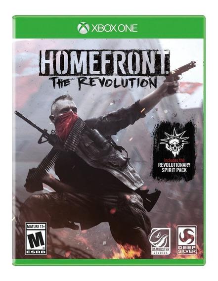 Jogo Homefront Xbox One Mídia Física Lacrado Pronta Entrega