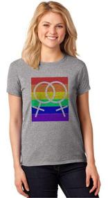 Camiseta Feminina T-shirt Lgbt Homossexual Baby Look