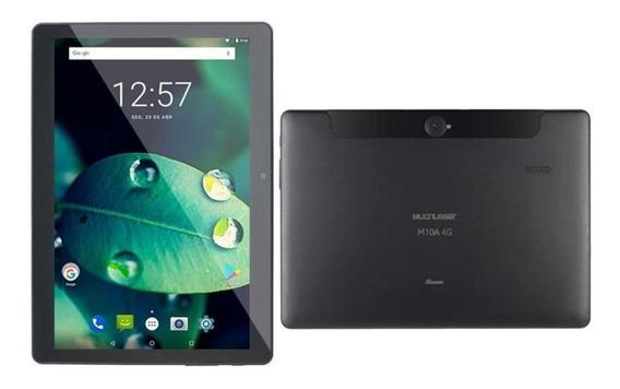 Tablet M10 16gb 2gb Ram Dual Chip Celular 4g Wifi Tela 10 Po