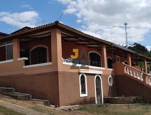 Bela Chácara Com 3 Dormitórios À Venda, 1000 M² Por R$ 520.000 - Parque Das Instancias - Morungaba/sp - Ch0587
