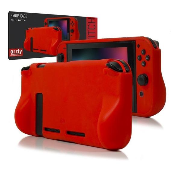 Nintendo Switch Funda Protector Silicona Rigida Joycon Orzly