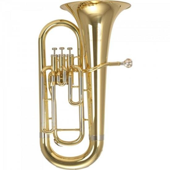 Bombardino Bb Heu-108l Latão Em Cuproníquel Harmonics