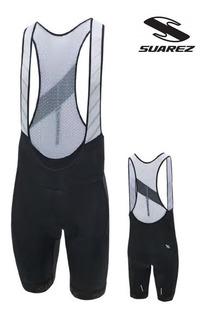 Lycra Pantaloneta Atom Ciclismo Suarez Original Con Tirantes