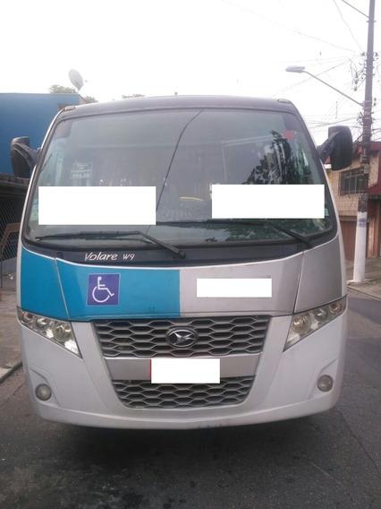 Micro Ônibus Volare W9 2015 - So 150.000
