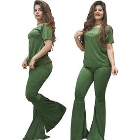 86b532f37 Blusas Manga Curta para Feminino Verde musgo em Goiás no Mercado ...