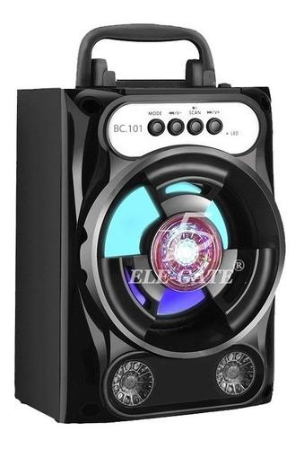 Elegate Bc100 Bocina Bluetooth, Fm, Microsd Usb, Recargable