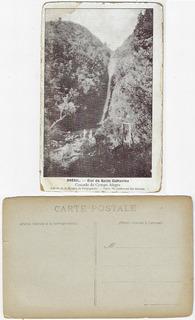 Sc Anos 1910 Cartão Postal Foto Salto De Campo Alegre