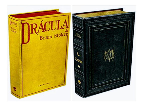 Kit Livros Drácula Darkside - Edição De Colecionador 2 Vol