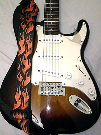 Guitarra Eléctrica Stagg Nueva Con Forro
