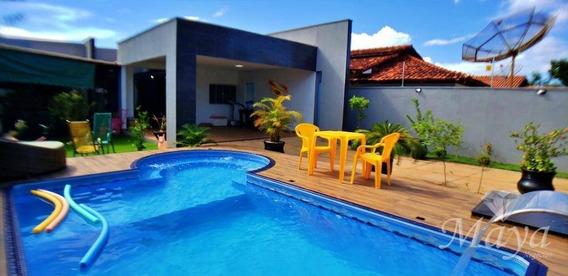 Casa 4 Quartos, 206 M² C/ Lazer Na 604 Sul - Ca0150