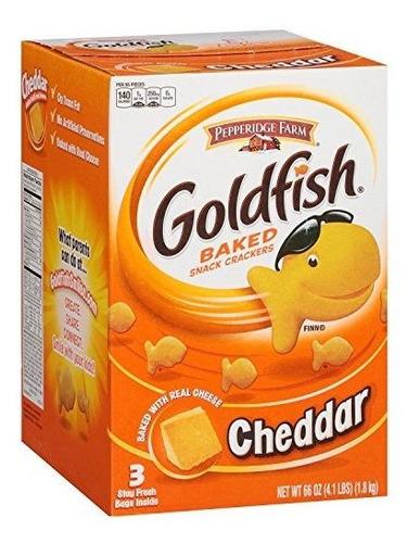 Pepperidge Farm Goldfish Cheddar Snack Crackers (66 Oz., 3