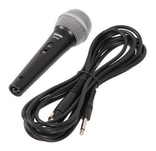 Microfone Com Fio Profissional Shure Sv100