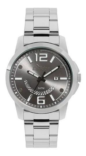 Relógio Condor Masculino Speed Prata - Co2115ktk/k3c