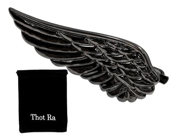 Pisacorbatas Thot Ra Diseño De Ala De Angel Pajaro G-286