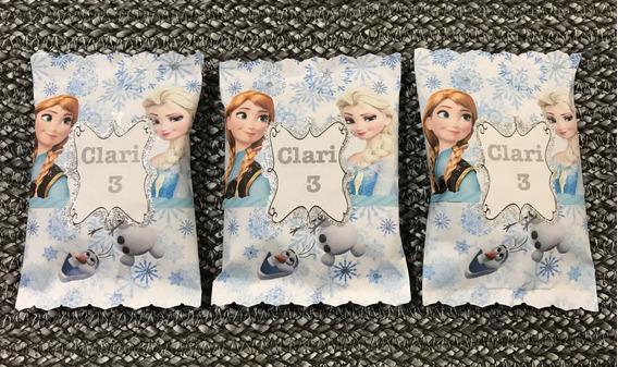 Alfajores Personalizados Frozen Candy Bar Candy Box