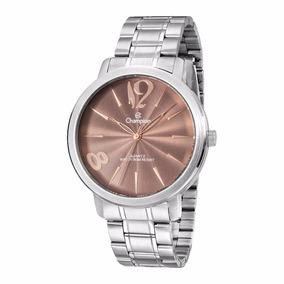 Relógio Feminino Champion Prata Cn29598r Original