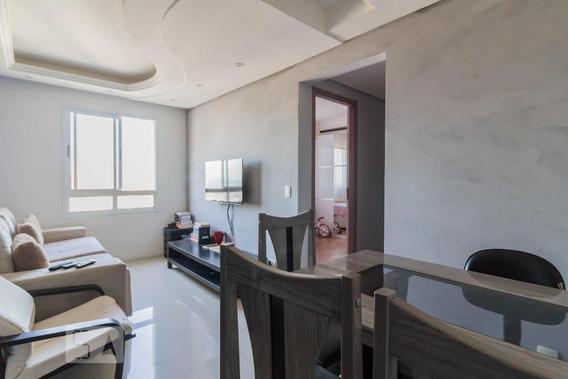 Apartamento No 19º Andar Com 2 Dormitórios E 1 Garagem - Id: 892955727 - 255727