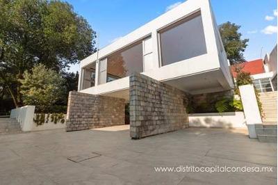 Residencia En Renta En Paseo De Las Palmas, Col. Lomas De Chapultepec