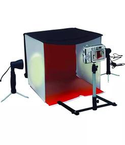 Mini Estúdio Fotográfico Pb-06 60cm Kit Tenda Difusora 110v